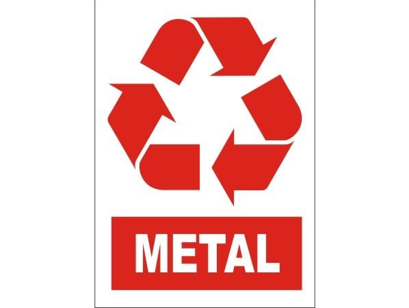 Naklejka - Metal Nr 10
