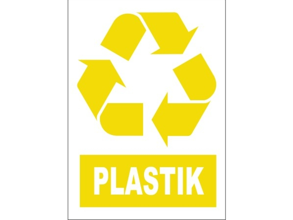Naklejka - Plastik Nr 02