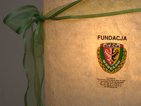 Naklejka dla fundacji
